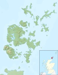 orkney_islands_uk_relief_location_map