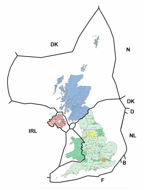 map of international boundaries