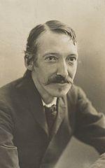 Robert Louis Stevenson by Henry Walter Barnett
