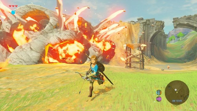 Legend of Zelda screen shot