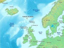 Map of the Faroes