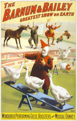 800px-Barnum_&_Bailey_clowns_and_geese2