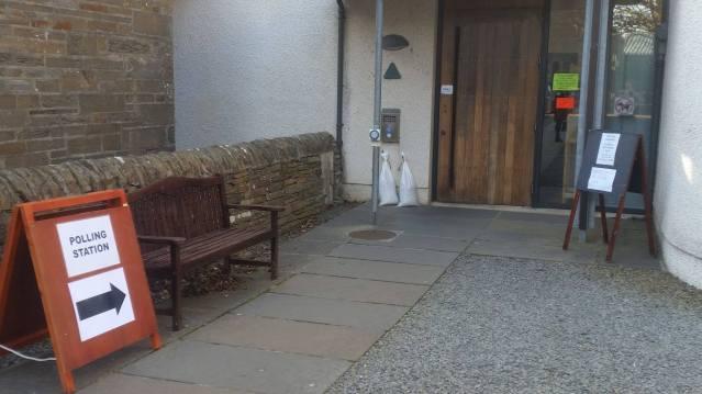 Kirkwall polling station