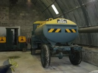 outside large military equipment can be found (F Grahame)