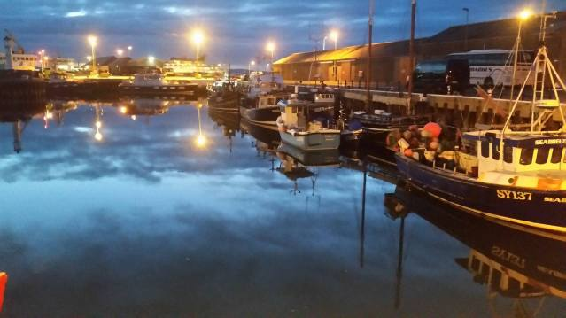 June 20th Kirkwall Harbour