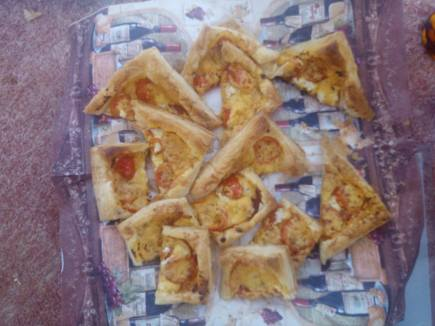 pizza bites, helen's home cooking