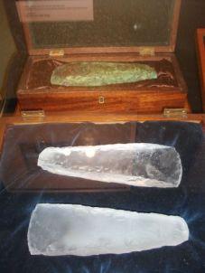 glass axes