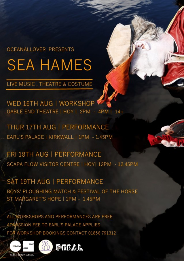 Main Sea Hames A4 Poster August