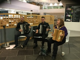 UHI Applied Music Group (Photo F Grahame)