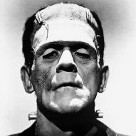 Boris Karloff as Frankensteiin's Monster
