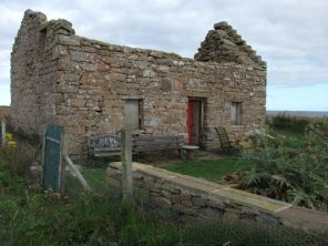 ruined house South Ronaldsay