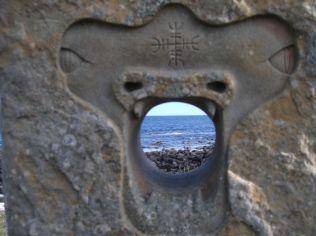 Millenium Stone South Ronaldsay Photo B Bell ('Fake')