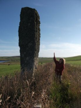standing stone South Ronaldsay