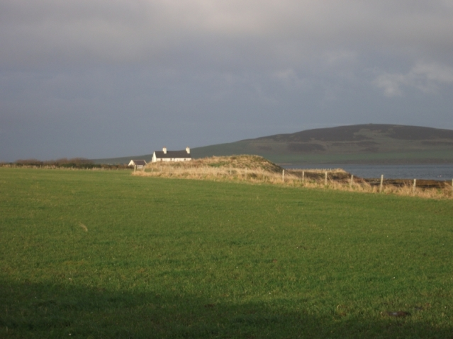 The Knowe of Dishero broch
