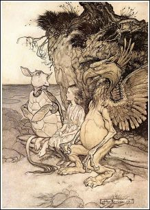 Alice_in_Wonderland_by_Arthur_Rackham_-_13_-_That's_very_curious