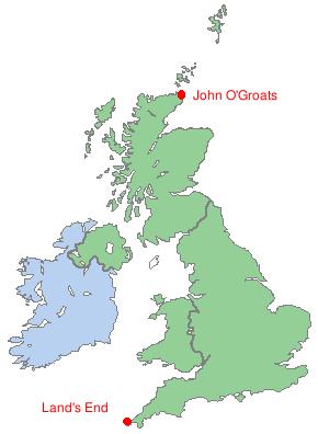 Lands End to John O' Groats