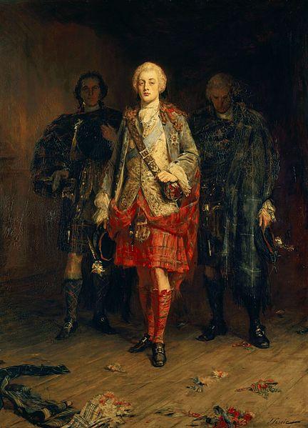 Bonnie Prince Charlie by John Pettie