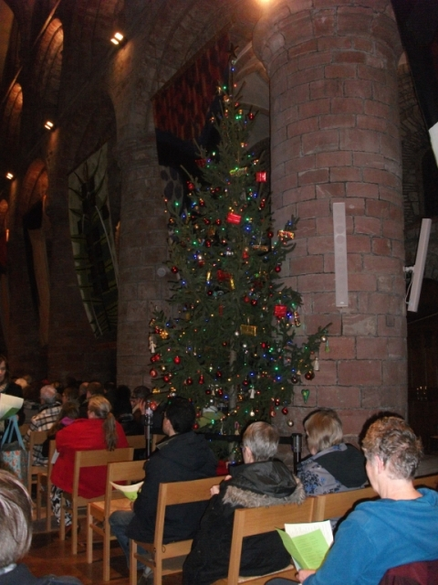Christmas Tree in St Magnus