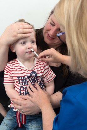 CHILD FLU VACCINATION