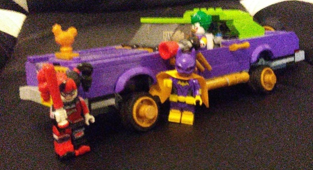 Lego Batman car