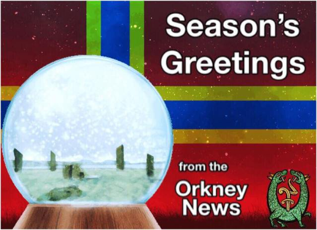season's greetings Orkney News