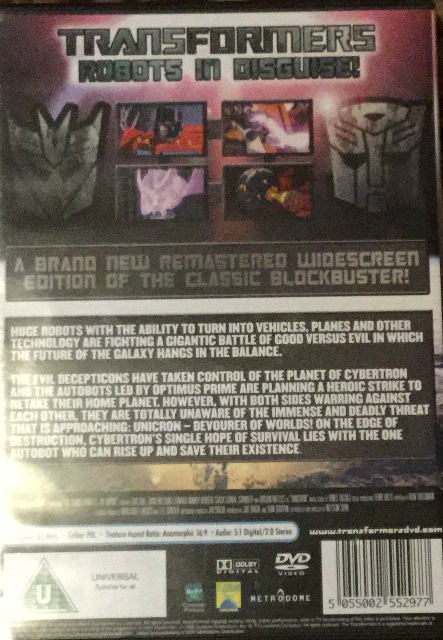 Transformers back