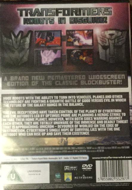 Transformers back