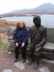 Bernie Bell and a geologist