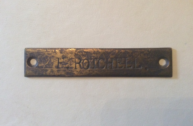 name plate Opal