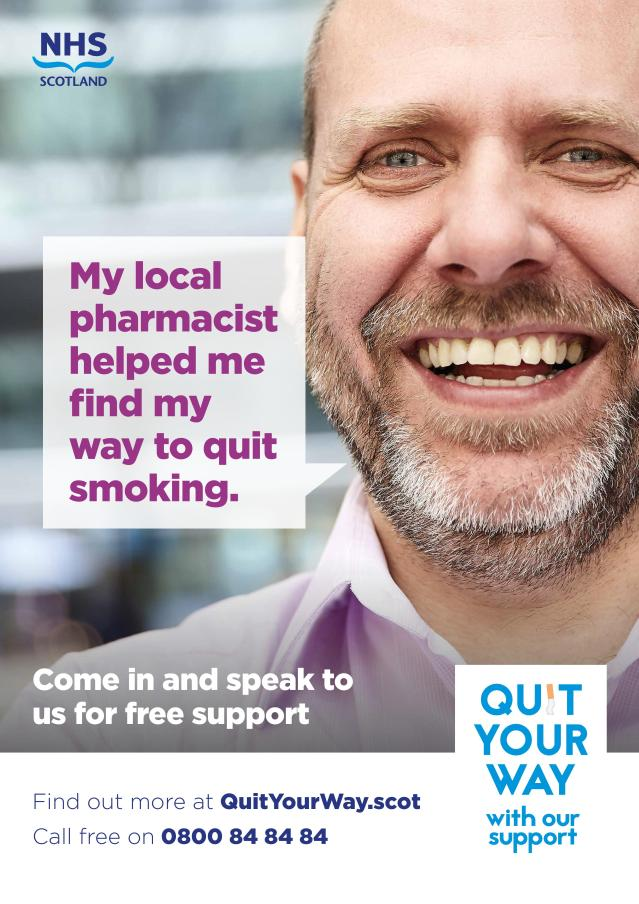 NHS 10812 Quit Your Way Poster