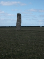 North Ronaldsay stone the Stan stane B Bell