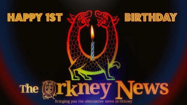 Orkney News Birthday 1