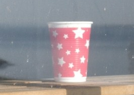Plastic cup B Bell