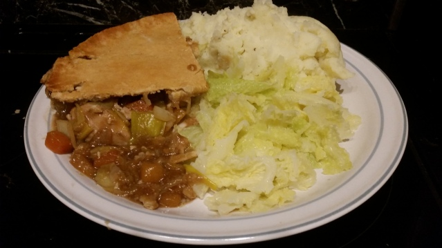 Shortcrust Chicken pie