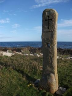 The Millennium stone near Kirkhouse, South Ronaldsay