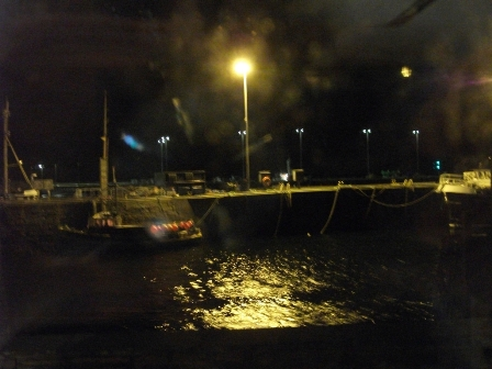 Stromness harbour waves B Bell