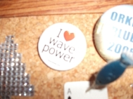 wave power badge