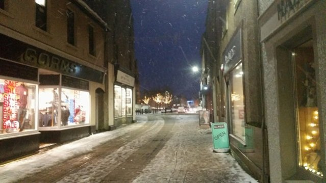 wintry Kirkwall