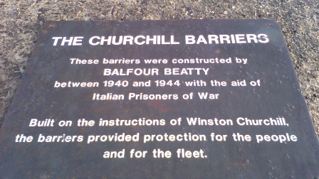 Churchill Barriers B Bell