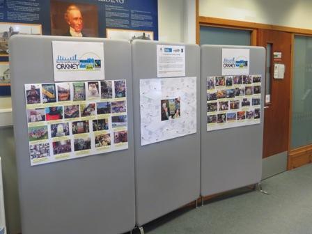 Fair Trade postcard exhibition