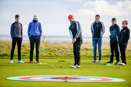 Dornoch Golf stockphotos