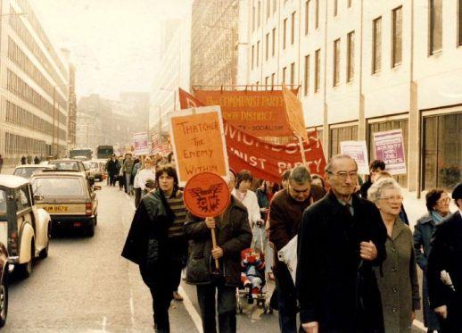 Miner's Strike Rally London 1984
