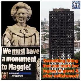 Thatcher statue 2