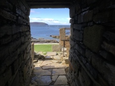 Broch of Midhowe, Rousay