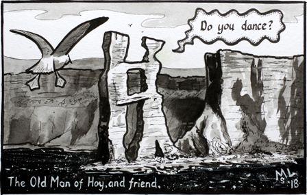 Hoy cartoon Martin Laird