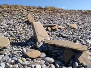 Stone seats A