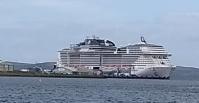 cruise ship MSC Meraviglia 02/05/2018 F Grahame