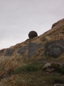 geology trail B Bell stone ball