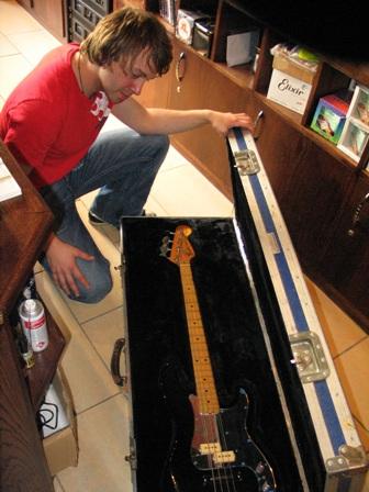 Lynott guitar Eamonn Keyes