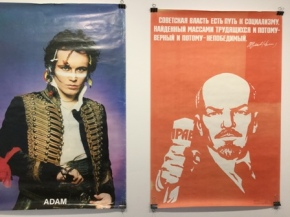 posters Ant and Lenin